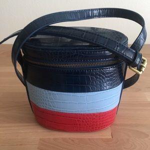 Anthropologie Crossbody Bucket Bag